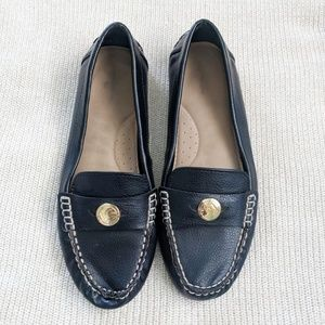 Liz Claiborne Black Slip-on Loafers 10